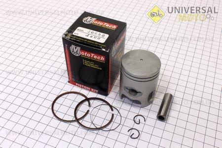 Поршень, кольца, палец к-кт Yamaha JOG50 40мм +1,00, Тайвань (палец 10мм)