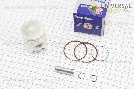 Поршень, кольца, палец к-кт Yamaha JOG50 40мм +1,00 синяя коробка (палец 10мм)