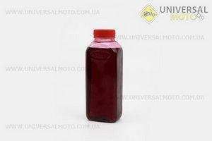STIHL 2Т, масло 0,5л (дешёвое, бутылка овальная)