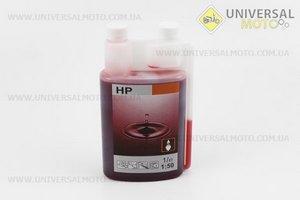 STIHL 2Т, масло 1л (дешёвое качественное, бутылка с дозатором)