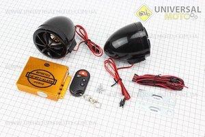 Колонки 2шт +МРЗ-USB/SD+FM-радио+пультДУ+сигнализация
