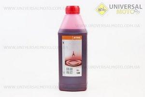 STIHL 2Т, масло 1л, ОРИГИНАЛ (бутылка овальная)