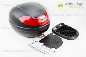 Кофр LUX МАТовый черный отстегивающийся HF-815 430*410*320мм