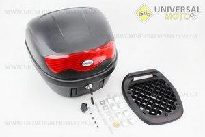 Кофр LUX МАТовый черный отстегивающийся HF-808 395*395*300мм
