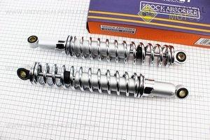 Амортизатор задний к-кт 2шт 340мм, регулируемые (хром)