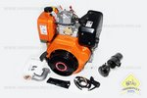 Двигатель мотоблочный в сборе под шлиц ?25мм+стартер 9л.с. 186FЕ (HT-135)