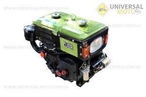 Двигатель мотоблочный в сборе + стартер 8л.с. ZUBR SH180NDL