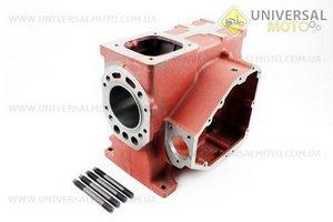 Блок двигателя, под поршень 80мм R180NM (короткий) (+гильза+шпильки 4шт)